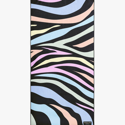 Hot Stripes - Pastel-Beach-Towel