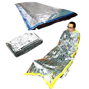 Survival Rescue Thermal First Aid Blanket Camping Foil Rescue Blanket