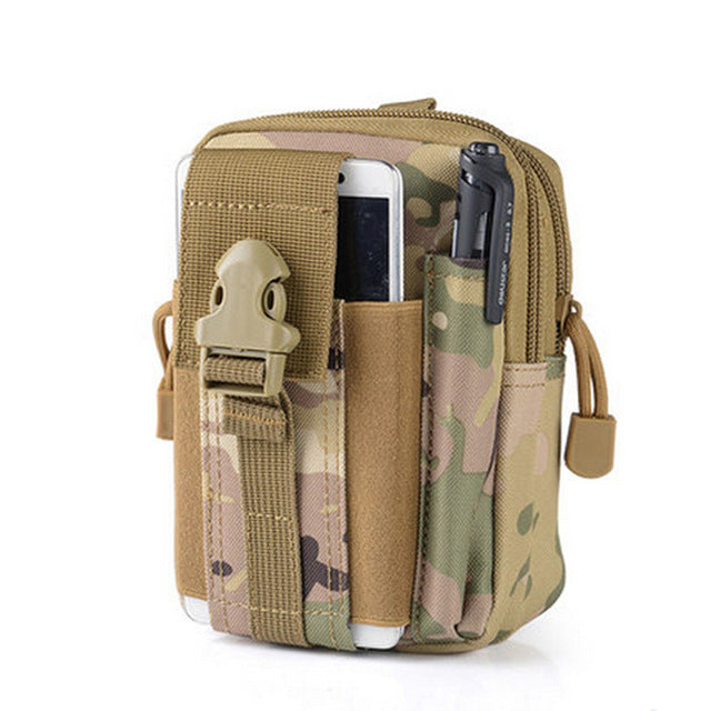 Men Tactical Pouch Belt