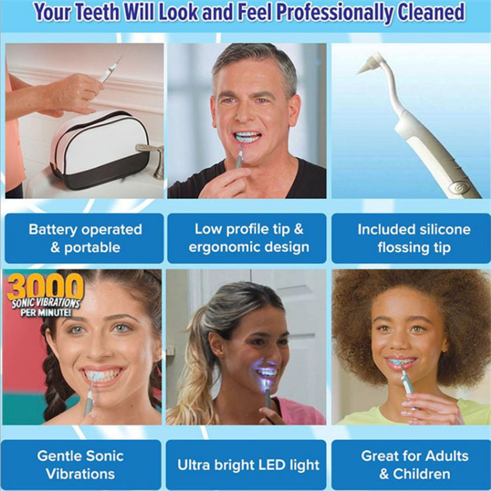 2019 New Electric Sonic Pic  Dental Cleaning System