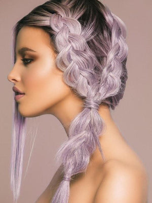 Lilac Frost | HF Synthetic Wig (Basic Cap)