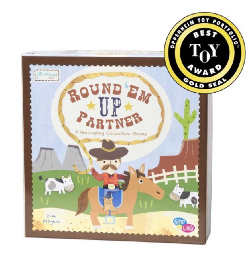 Round 'Em Up Partner - A Galloping Collection Game