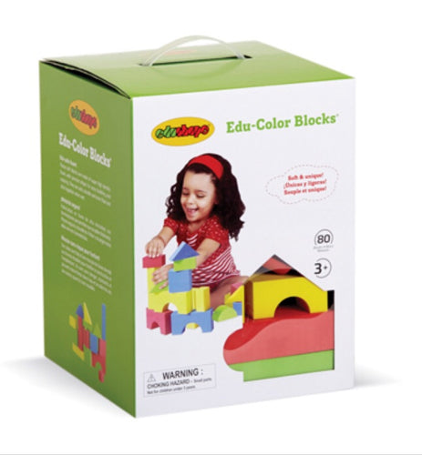 Edu-Color Blocks 80 Pieces