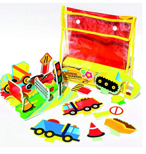 Digger and Dumpers Floating Activity Set