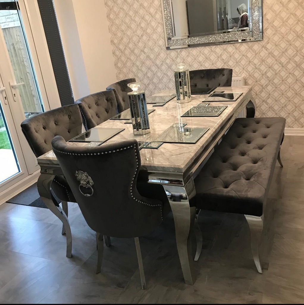 Hollywood Dining Set 2m
