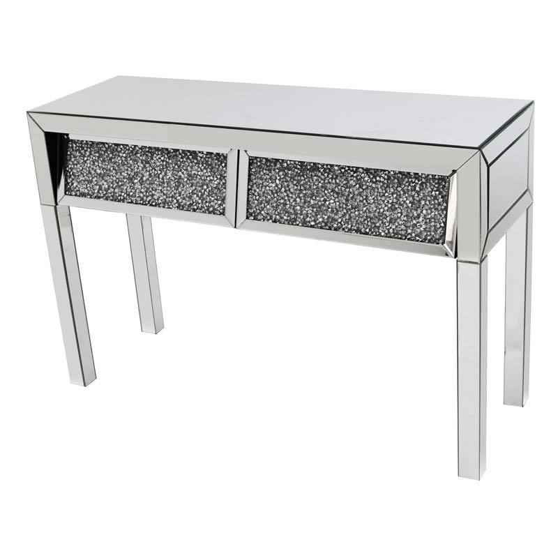 Angled Gatsby 2 Drawer Console Table