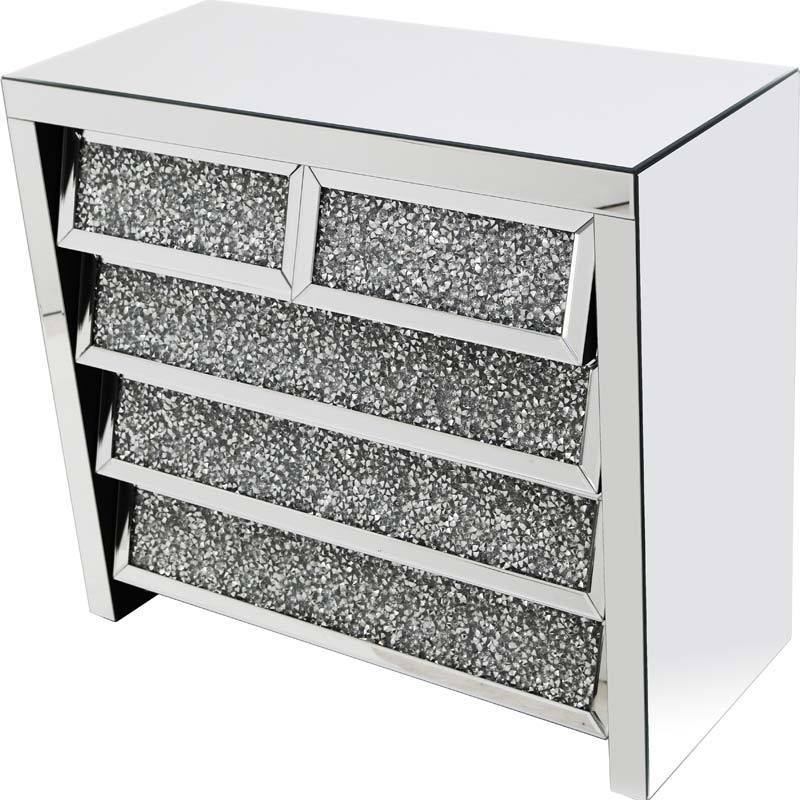 Angled Gatsby 5 Drawer Chest