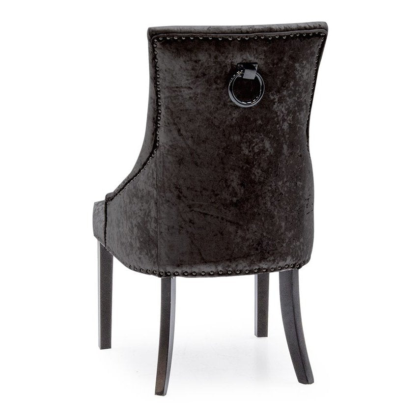 Cheshire Knockerback Chair - Black