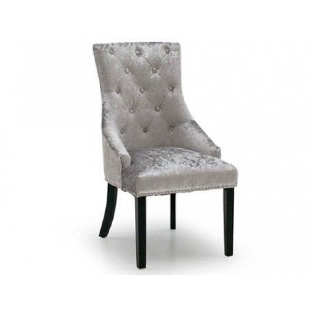 Cheshire Knockerback Chair - Silver