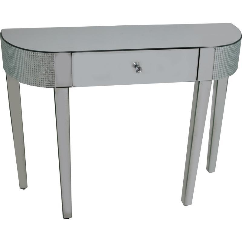 Chic Mirrored Console Table