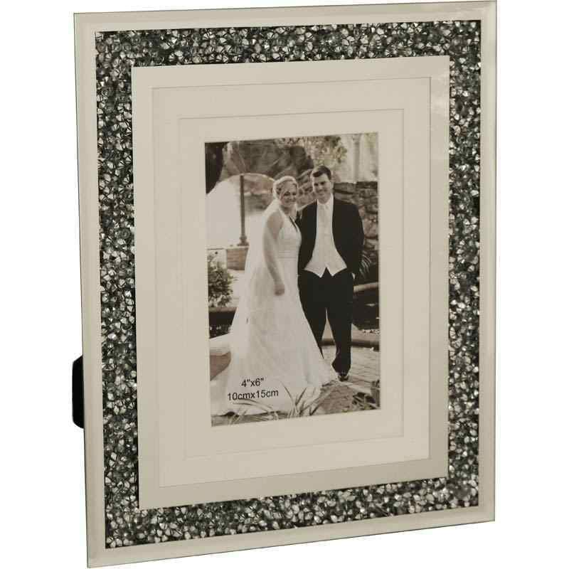 Desktop Silver Gatsby Photo Frame