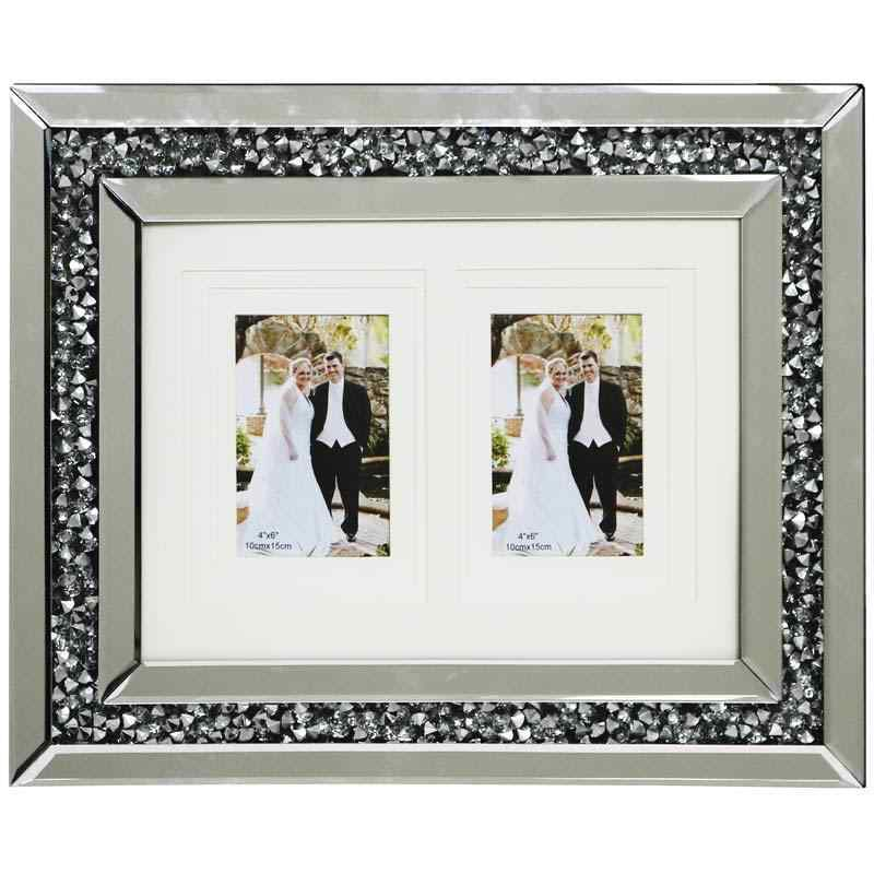 Gatsby Crushed Diamond Photo Frames