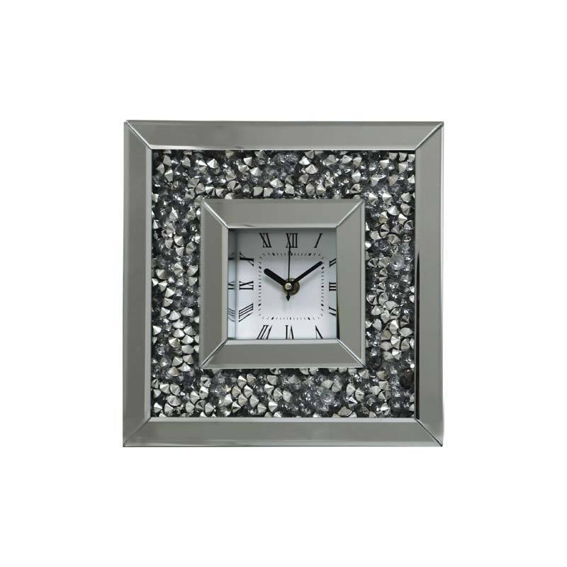 Gatsby Mirrored Table Clock