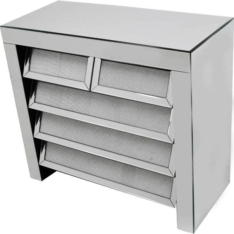 Glamour 5 Drawer Sideboard