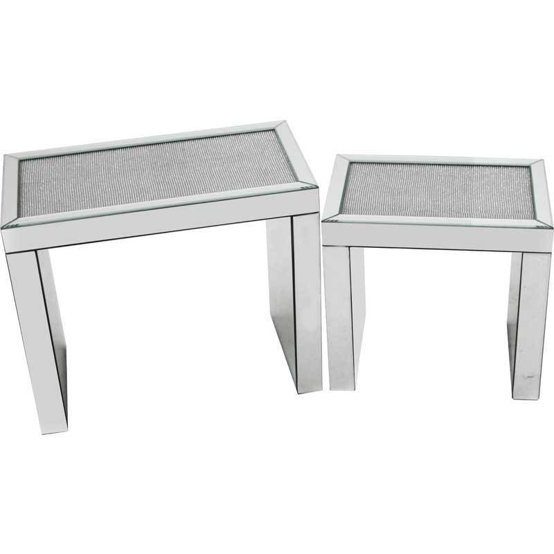 Glamour Nest of Tables - Set of 2
