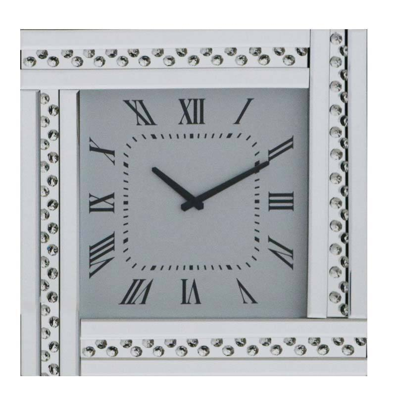 Glitz Mirrored Clock