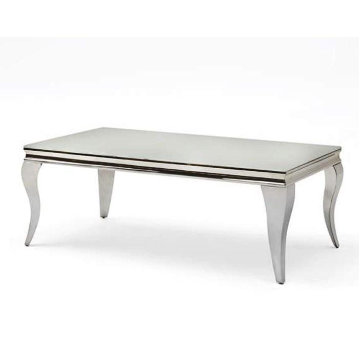 Louis Coffee Table 1100mm - White