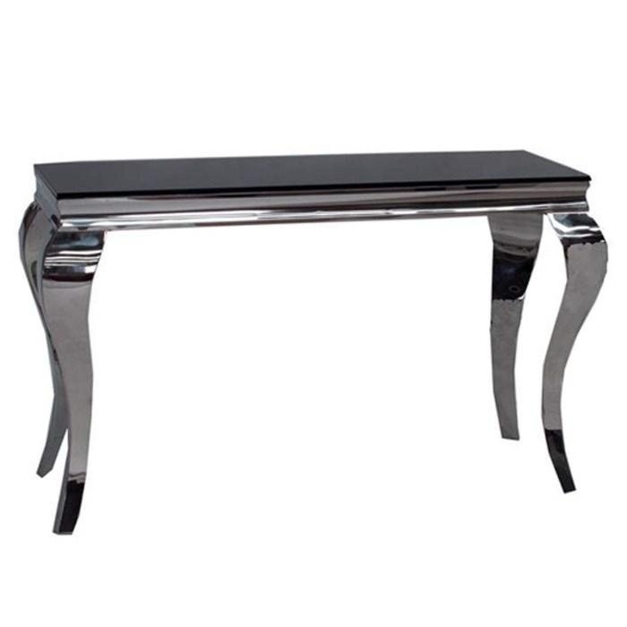 Louis Console Table - Black
