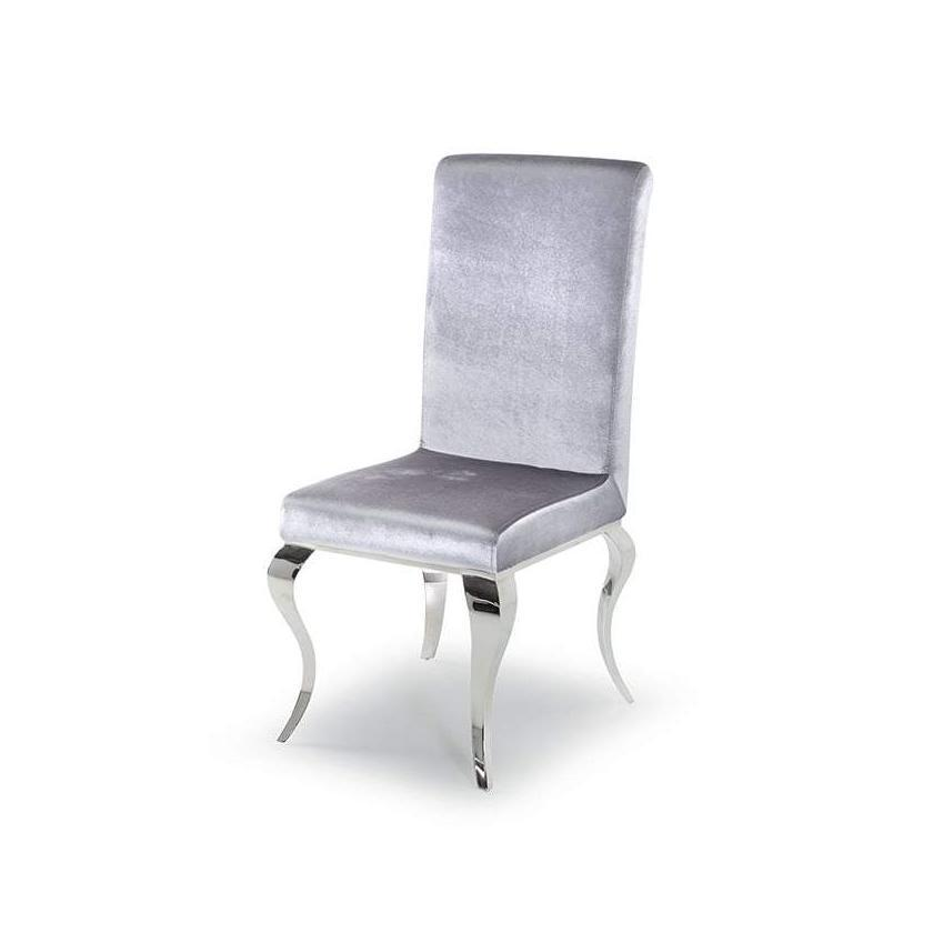 Louis Dining Chair - Silver
