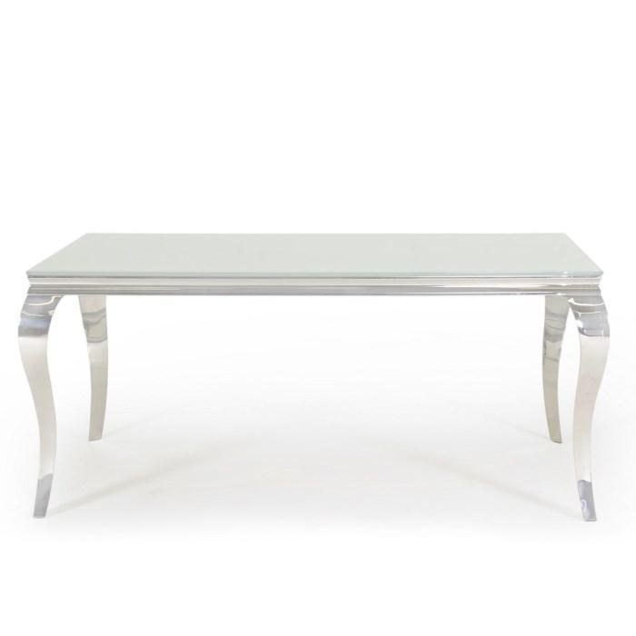 Louis Dining Table 2000mm - White