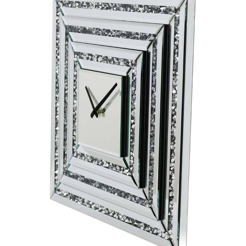 Mirrored Square Clock