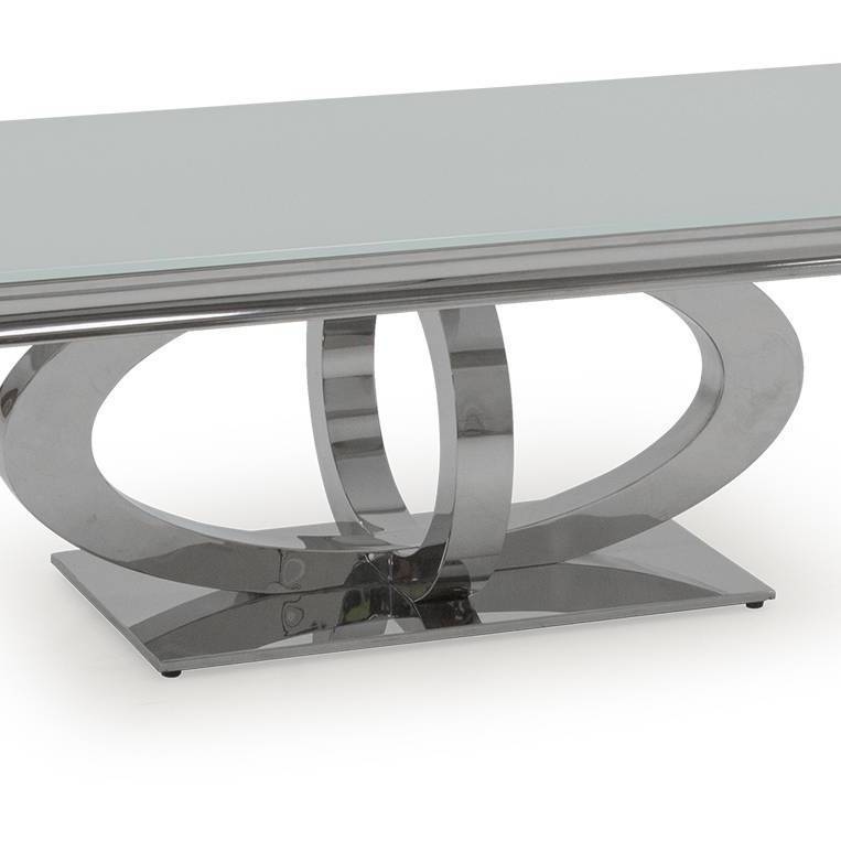 Orion 1300mm Coffee Table - White