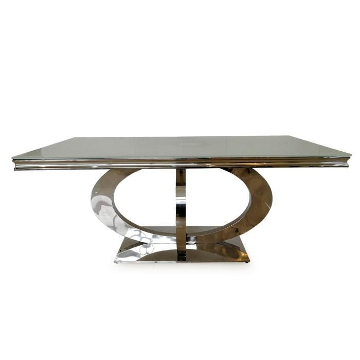 Orion 2200mm Dining Table - White