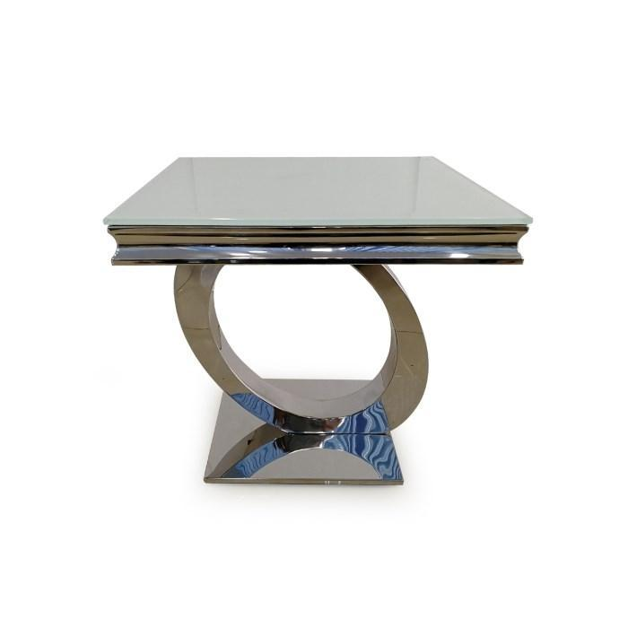 Orion Lamp Table - White