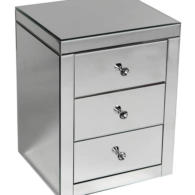Supreme 3 Drawer Bedside Cabinet