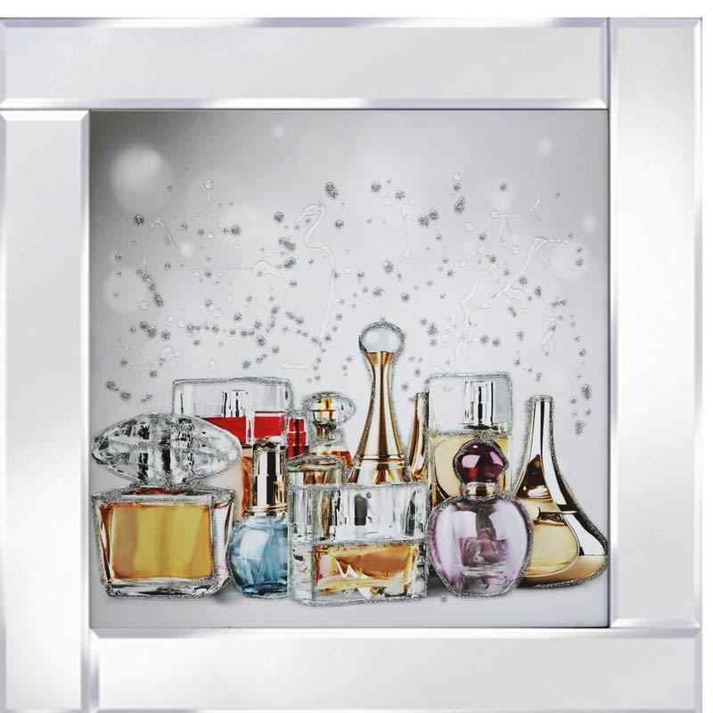Various Glass Perfume Bottles