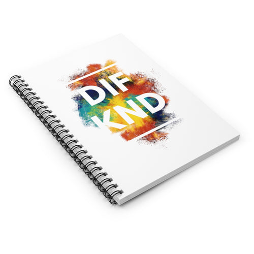 DIF KND Spiral Notebook - Ruled Line