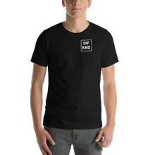 Load image into Gallery viewer, Adult DIF KND Logo Short-Sleeve Unisex T-Shirt