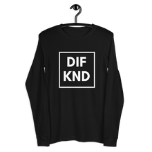 Load image into Gallery viewer, DIF KND Unisex Long Sleeve Tee