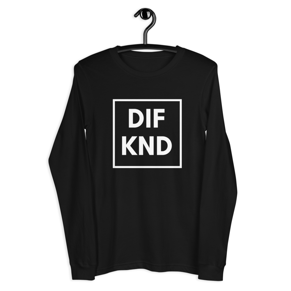 DIF KND Unisex Long Sleeve Tee