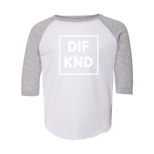 Toddler DIF KND Baseball Fine Jersey Tee