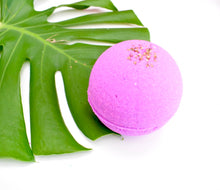 Load image into Gallery viewer, Ylang & Cajeput Essential Oil Bath Bomb