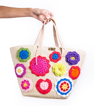 Load image into Gallery viewer, Flowers Tote