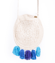 Load image into Gallery viewer, Ocean Macrame Bag