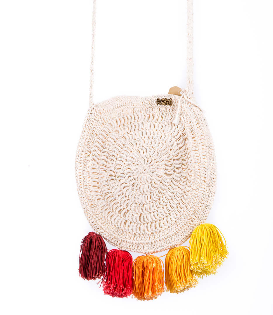 Earth Macrame Bag