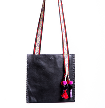 Load image into Gallery viewer, Black Inca Bag