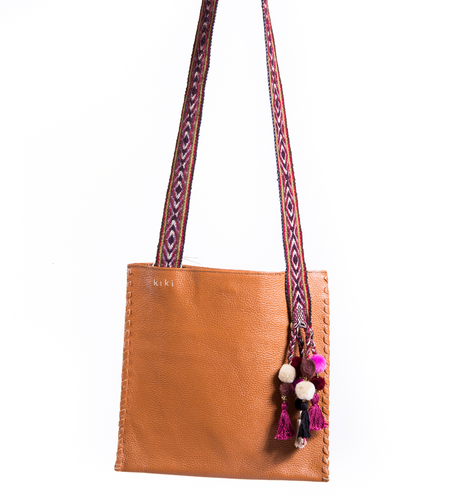Brown Inca Bag