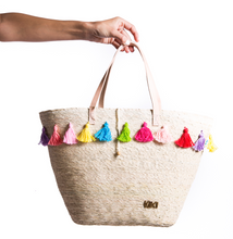 Load image into Gallery viewer, Rainbow Stripe Tote