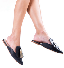 Load image into Gallery viewer, Black Mules