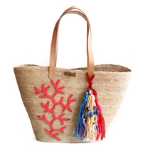 Load image into Gallery viewer, Coral Tote
