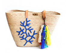 Load image into Gallery viewer, Blue Coral Tote