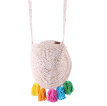 Load image into Gallery viewer, Rainbow Macrame Bag