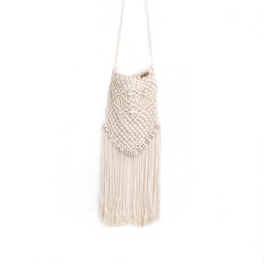 Triangular Macrame Bag