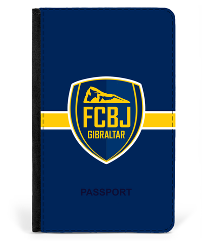 Fc Boca Passport Cover Faux Leather