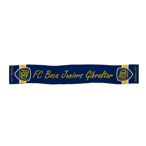 FC Boca Satin Sports Scarf