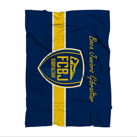 FC Boca Throw Blanket